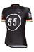 Bioracer EF 55 Pro Race Naiset lyhythihainen ajopaita , musta